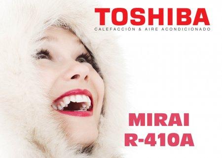 Mirai R410A de Toshiba