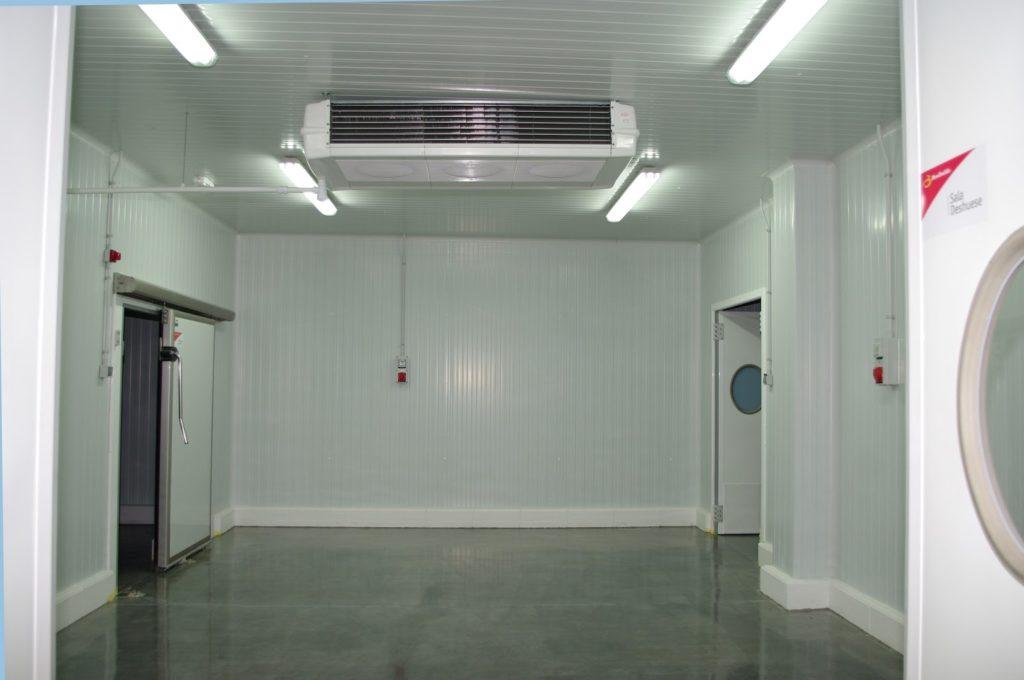 Mantenimiento de equipos de frío industrial